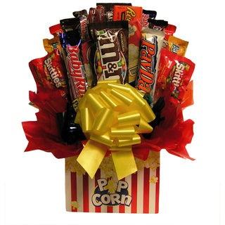 Movie Night Popcorn Chocolate/Candy Bouquet