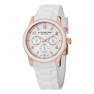 Stuhrling Original Women's Aruba Swiss Quartz Stainless Steel Bracelet Watch