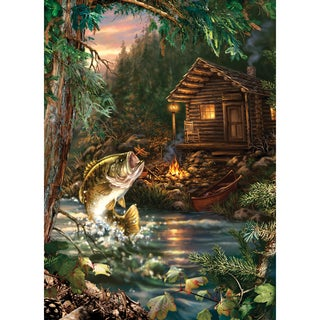 Gone Fishing Puzzle 1000 Pieces