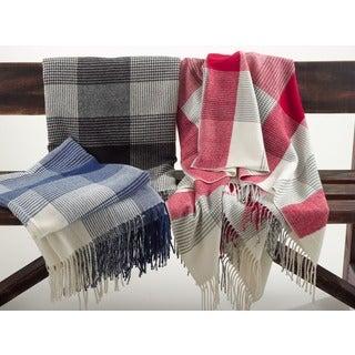 Plaid Design Throw Blanket