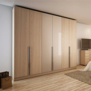 Manhattan Comfort 'Downtown' 6-door Wardrobe