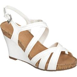 Women's A2 by Aerosoles Candyplush White Faux Leather