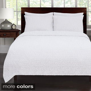 Riverbed Coverlet with Shams Sold Separately