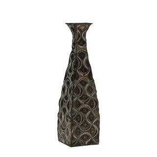 Elements Metal Bronze Ogee Vase