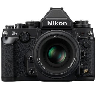 Nikon Black Df DSLR Camera with 50 mm f/1.8 Lens