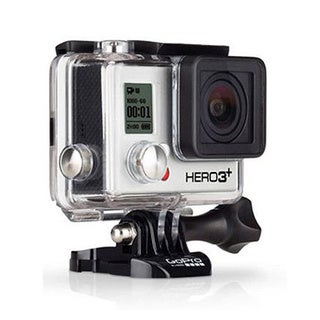 GoPro HERO3+ Silver Edition Waterproof 10MP Camera with Wi-Fi