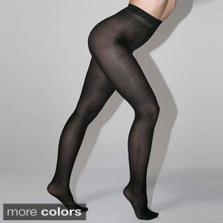 American Apparel Women's Opaque Liquid Metallic Pantyhose