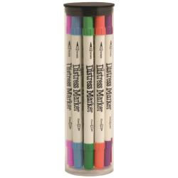 Tim Holtz Distress Marker Tube Set 12/Pkg - 2 X7.35