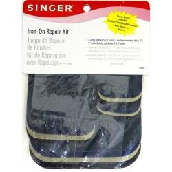 Iron-On Patches Assorted Sizes 16/Pkg - Assorted Colors