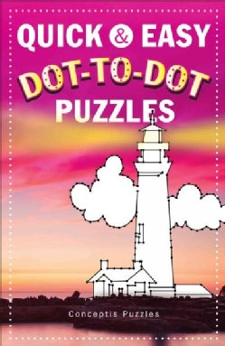 Quick & Easy Dot-to-Dot Puzzles (Paperback)