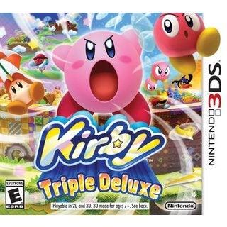 Nintendo 3DS - Kirby Triple Deluxe