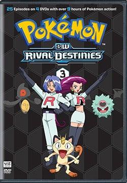 Pokemon: Black & White Rival Destinies Set 3 (DVD)