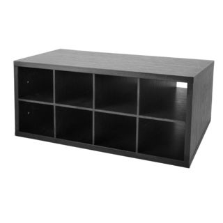 Organized Living freedomRail Midnight Live Double Hang O-Box Cubby