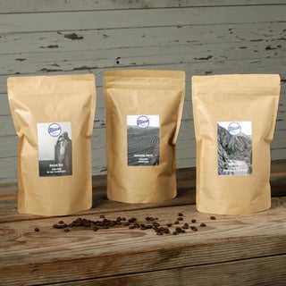 Blue Roasting Company Organic Fresh-roasted Coffee Variety Bundle (Pack of 3)