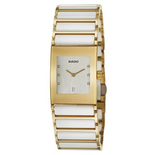 Rado Women's 'Integral Jubile' Yellow Gold PVD-coated Stainless Steel Swiss Quartz Watch