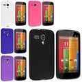INSTEN Colorful TPU Gel Rubber Flexible Skin Cover Phone Case Cover for Motorola Moto G
