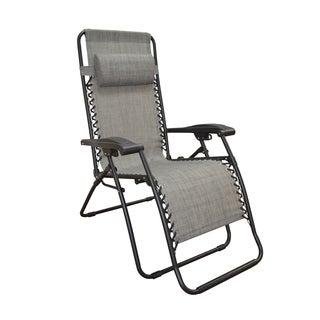 Caravan Canopy Grey Infinity Zero Gravity Chair