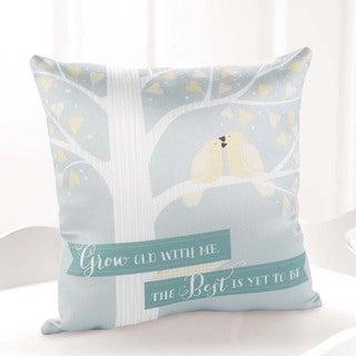 Hortense B. Hewitt Love Birds Pillow