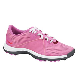 Nike Womens Lunar Empress Golf Shoes White/Volt