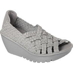 Women's Skechers Parallel Take It or Weave It Gray/Silver