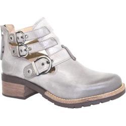 Women's Dromedaris Kelsy Boot Grey Soft Waxy Leather
