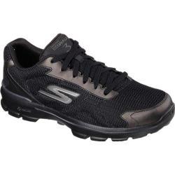 Men's Skechers GOwalk 3 FitKnit Black