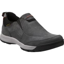 Men's Clarks Wave.Scree Easy Charcoal Oily Nubuck
