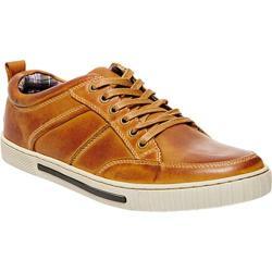 Men's Steve Madden Pipeur Sneaker Tan Leather