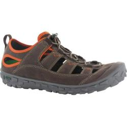 Men's Hi-Tec Ezeez Shandal I Chocolate/Red Rock