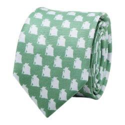 Men's Cufflinks Inc Yoda Skinny Tie Green/Grey