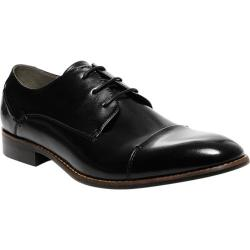 Men's Steve Madden Lewwy Oxford Black Leather