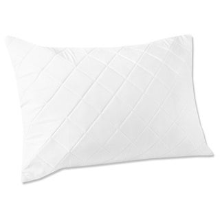 Quilted Memory Foam Pillow Protectors (Set of 2)