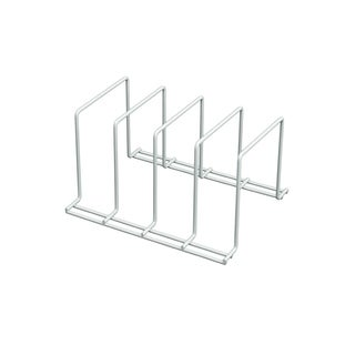 Organized Living White 4-sort Medium Divider