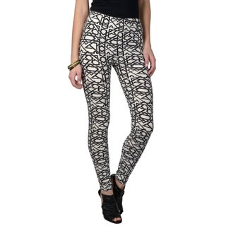Journee Collection Junior's Soft Patterned Leggings