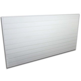 Proslat White 32 square foot Heavy Duty Slatwall Organizer