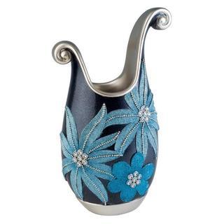 Aqua Demeter 14-inch Decorative Vase