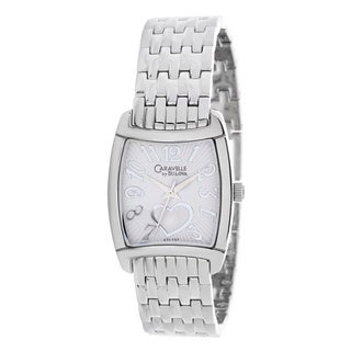 Caravelle by Bulova Women's 43L137 Dress Stainless Steel Japanese Quartz Watch