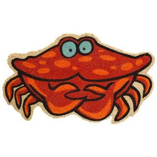 Crab-Coir with Vinyl Backing Doormat (17x29)