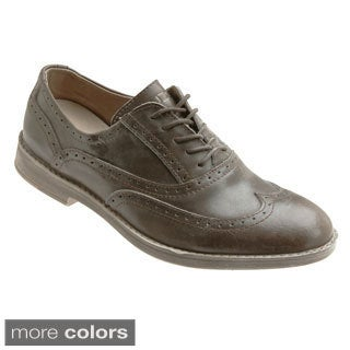 Hey Dude Shoes 'Vinci' Leather Wing-tip Oxford Shoes