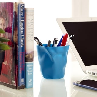 Lava Blue Modern Pencil Holder