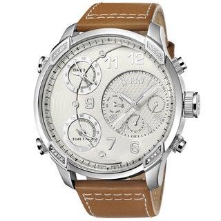 JBW Men's G4 Multi-time Zone Diamond Watch