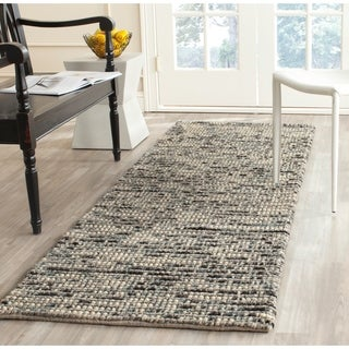 Safavieh Hand-woven Bohemian Grey/ Multi Wool/ Jute Rug (2'6 x 6')