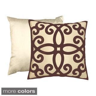 'Quanternary' Contemporary Decorative Throw Pillow