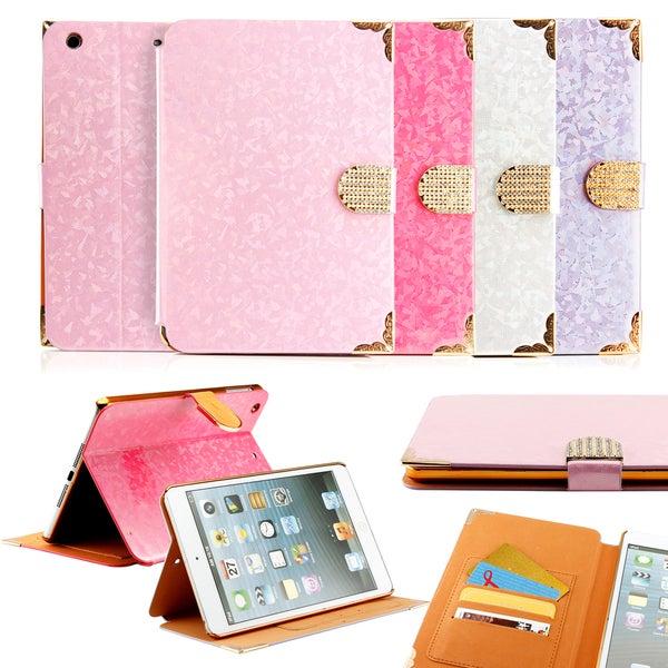 Gearonic Folio Leather Smart case for Apple iPad Mini 2 with Retina