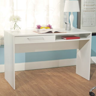 Simple Living White Taylor Writing Desk