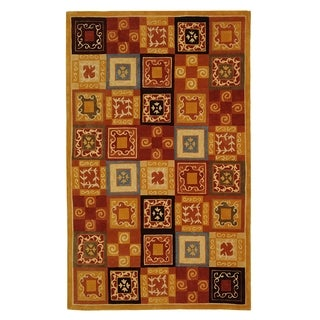 Safavieh Handmade Cosmopolitan Multi Wool Rug (9' x 12')