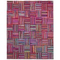 Brilliant Ribbon Tiles Rug (8' x 10')