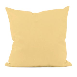 Yellow Decorative Throw Pillow
