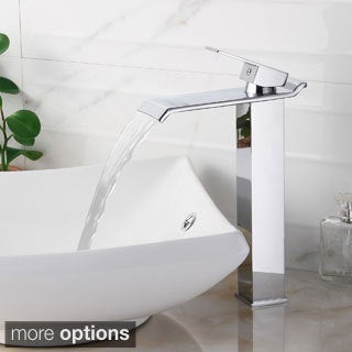 Elite 8818 Single-lever Waterfall Vessel Sink Faucet
