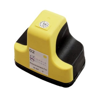 Sophia Global Remanufactured Ink Cartridge Replacement for HP 02 (1 Yellow)
